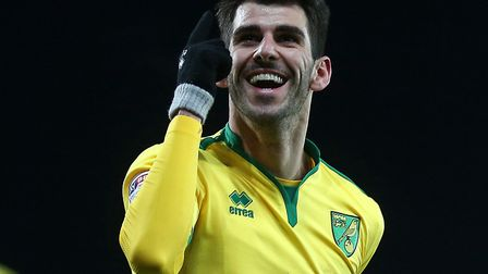 Nelson Oliveira can help put a dent or two in Norwich City's promotion rivals Picture: Paul Chestert