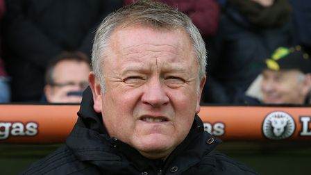Chris Wilder's club went to extra lengths to get a result at Norwich City Picture: Paul Chesterton/F