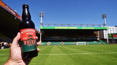 To celebrate the Canaries' East Anglian Derby victory, Woodforde's Brewery is offering a free bottle