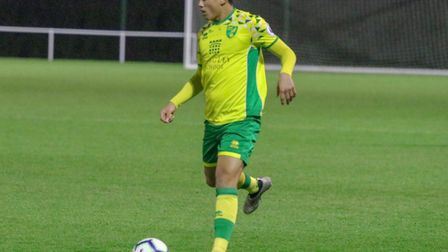 Josh Coley has been a regular for Norwich City Under-23s this season Picture: Norwich City