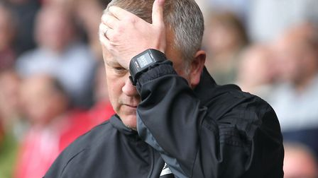 Chris Wilder's Sheffield United trail Championship leaders Norwich City by four points after a 0-0 d