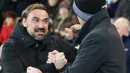 Norwich City head coach Daniel Farke got the better of Swansea manager Graham Potter at Carrow Road.