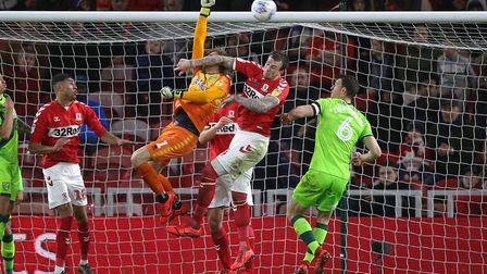 Tim Krul - keeping it clean at Middlesbrough Picture: Paul Chesterton/Focus Images Ltd