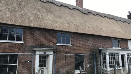 A fire which started in the Ingham Swan soared through the adjoining Town House cottage and destroye