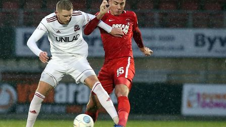 Leyton Orient centre-back Dan Happe, right, has been linked with Norwich City Picture: Simon O'Conno