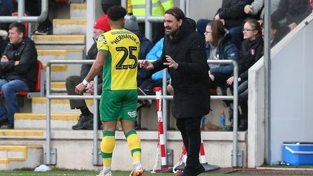 Daniel Farke allowed his players that weren't on international duty some time off at the end of last