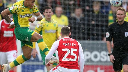 Onel Hernandez has been part of an unchanged Norwich City line up for the past six league games Pict