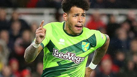 Onel Hernandez's goal at Boro sealed a seventh win on the spin for Norwich City Picture: Paul Chest