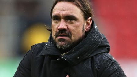 Daniel Farke is appealing to Norwich City fans to play their part against QPR Picture: Paul Chestert