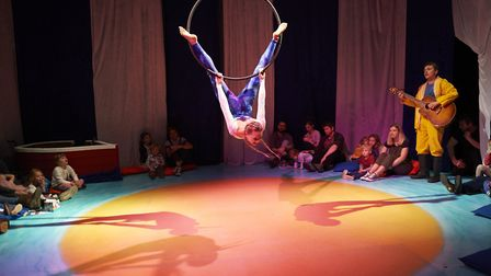 My First Circus: The Littlest Mermaid Credit: Andi Sapey