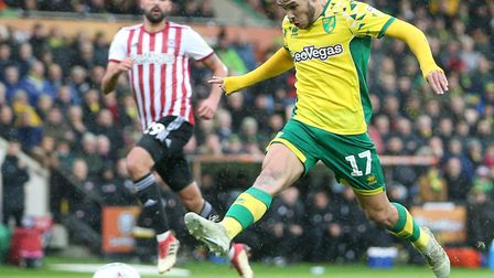 Emi Buendia has been a big miss for Norwich City through suspension Picture: Paul Chesterton/Focus I