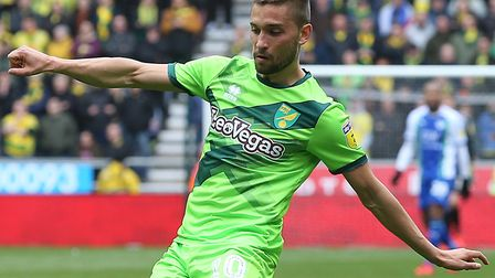 Moritz Leitner returns to the Norwich City starting line-up against Sheffield Wednesday Picture: Pa