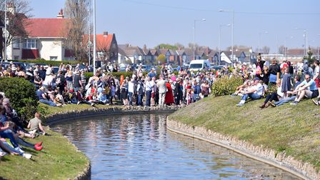 The re-opening of the Great Yarmouth waterways. PICTURE: Jamie Honeywood