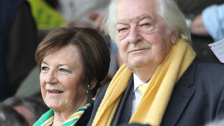 Norwich City's majority shareholders, Delia Smith and her husband Michael Wynn Jones, are looking fo