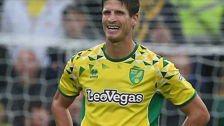Timm Klose looks set to extend his stay at Norwich City Picture: Paul Chesterton/Focus Images