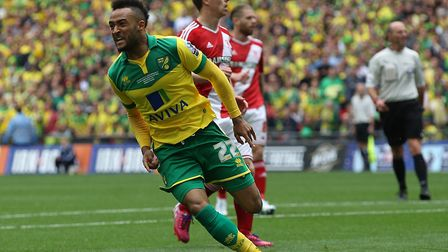 Nathan Redmond sealed Norwich City's play-off win Picture: Paul Chesterton/Focus Images