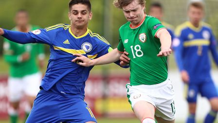 Bolton prodigy and Republic of Republic of Ireland youth international Luca Connell is in the sights