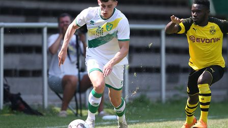 Norwich City youngster Simon Power is with the Republic of Ireland Under-21s for the Toulon Tourname