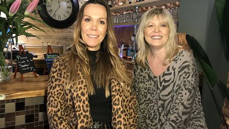 Sisters and business owners Simone Hopwood and Leona Gard have refurbished Welly's Smokehouse in Cro