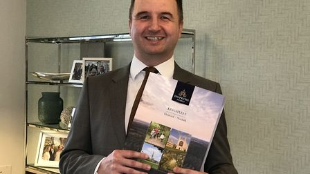 Lee Barnard, Sales and Marketing Director of Hopkins Homes. Picture: Neil Didsbury