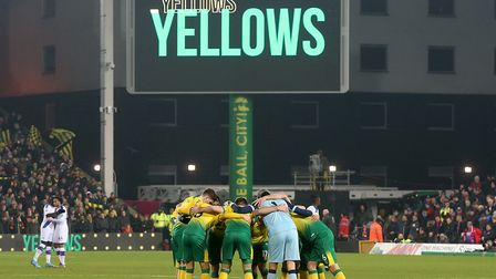 Norwich CIty return to Premier League action at Carrow Road tonight, taking on Leicester Picture: