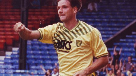 David Phillips was on target during Norwich City's last win in the FA Cup fifth round, back in 1992