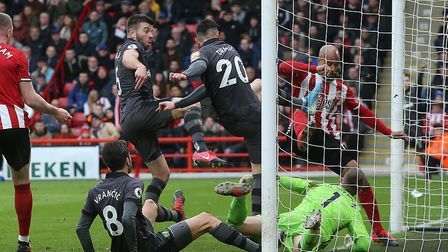 Dean Henderson foiled a posse of Norwich City players late on in Sheffield United's 1-0 Premier Leag