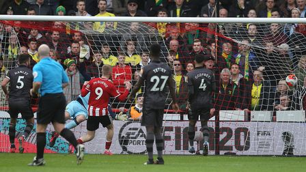 Billy Sharp opened the scoring with a close-range header. Picture: Paul Chesterton/Focus Images Ltd