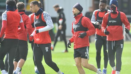 Norwich City trained at Colney on Thursday morning Picture: Tony Thrussell/Archant