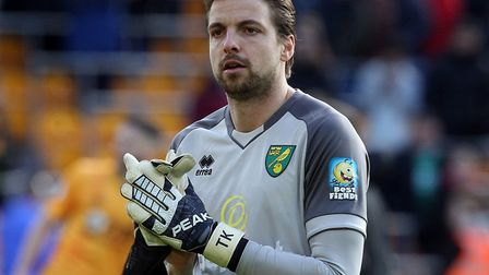 Tim Krul pulled off some impressive first half stops for Norwich City against Wolves Picture: Paul C