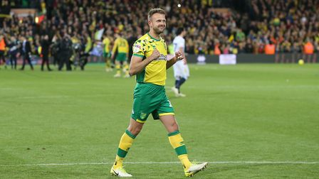 Jordan Rhodes became a firm fans' favourite at Carrow Road. Picture: Paul Chesterton/Focus Images