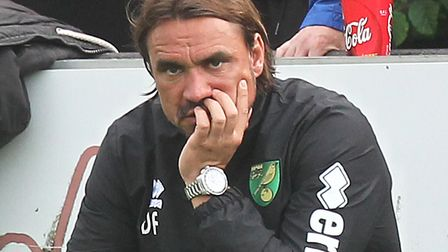 Daniel Farke should get the chance to keep Norwich City up on the pitch Picture: Paul Chesterton/Fo