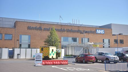 Norfolk and Norwich Hospital April 2020 Pictures: BRITTANY WOODMAN