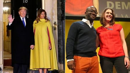 Tory turned Liberal Democrat Sam Gyimah has said the first lady of the United States backs his party