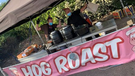 A drive-thru street food festival is coming to Norwich after a successful launch in Taverham over th