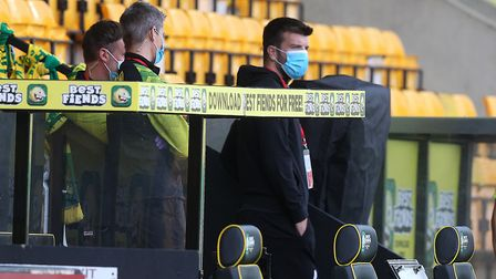 Grant Hanley before Friday's game - the City central defender was ruled out by injury Picture: Paul