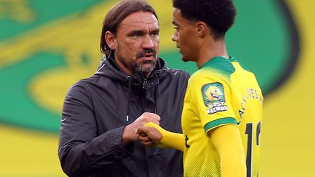Daniel Farke has rejected claims he was tactically inflexible against Southampton Picture: Paul Che