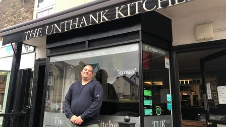 Chris Dunn, owner of The Unthank Kitchen in Norwich, won't be reopening the cafe on July 4 as the pr