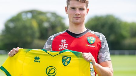 Jacob 'Lungi' Sørensen has agreed to join Norwich City FC Picture: Jason Dawson/Norwich City FC