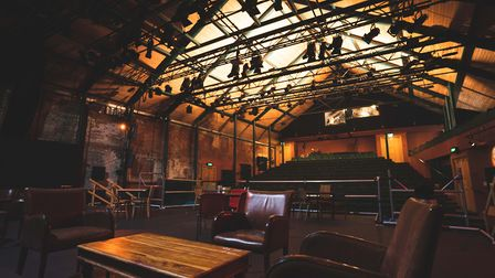 Norwich Theatre Playhouse has reopened its bar in the main auditorium Picture: Max Hilton