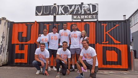 Junkyard Market is a bustling new open air, forward-thinking street food market outside St Mary's Wo