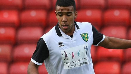 Kevin Lokko in FA Youth Cup action for Norwich City U18s at Watford in 2014 Picture: Paul Chesterton