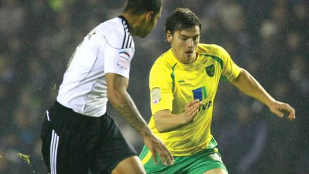 Chris Martin has linked up with Norwich City's Championship rivals Bristol City Picture: Paul Cheste