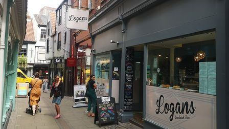 Logans Sandwich Bar in Norwich has seen a downturn in trade during the Eat Out to Help Out scheme. P