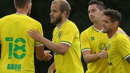 Norwich City concluded their pre-season campaign unbeaten with two games against Darmstadt, with Tee