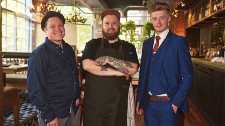 Brix and Bones in Norwich, above Gonzo's Tea Room, launches its evening service after it was delayed