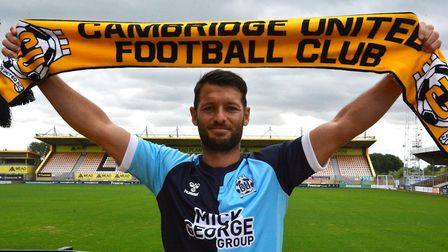Cambridge have Norwich City legend Wes Hoolahan in their League Two squad this season Picture: Cambr