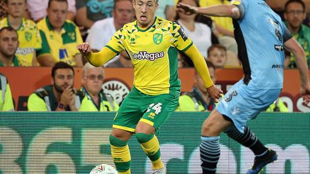 Felix Passlack was restricted to six appearances for Norwich during his season-long loan from Boruss