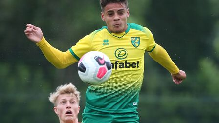 Norwich City full back Max Aarons is attracting admiring glances from Europe's biggest clubs Pictur