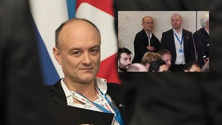Dominic Cummings has been pictured at the Nato leaders' summit despite having apparently resigned fr